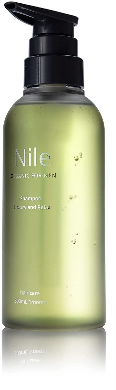 Nile 濃密泡スカルプシャンプー メンズ アミノ酸シャンプー ノンシリコン リンス成分配合 ラフランスの香り
